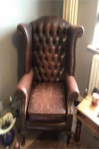 Newlook Upholstery - Before we upholstered