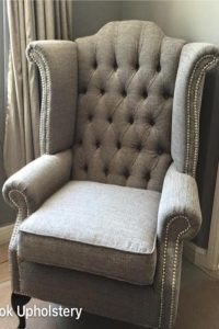 Upholstered Chair - Before we upholstered