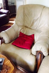 Newlook Upholstery Example - Before we upholstered